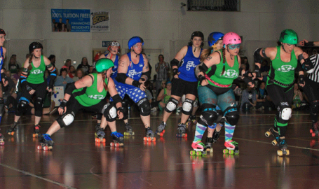 Jean Shepherd Center Hammond roller derby