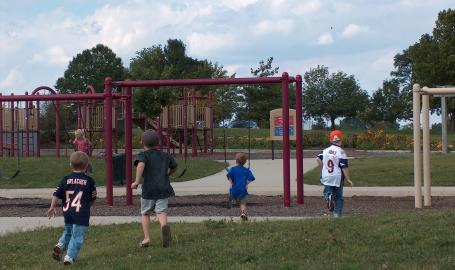 Lemon Lake County Park playground