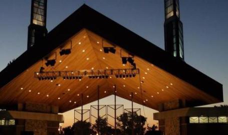 Pavilion at Wolf Lake Hammond