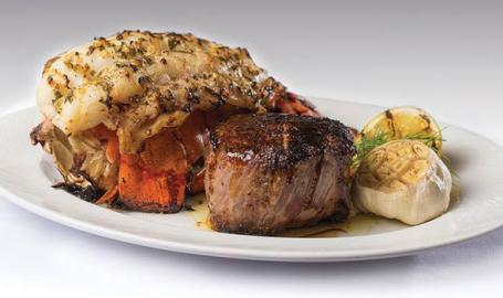 Steak and Lobster at Bugatti's in Ameristar Casino East Chicago
