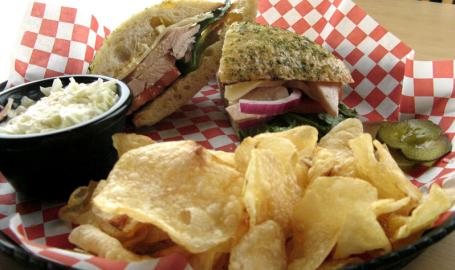 The View Restaurant Munster Sandwich
