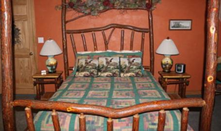 Thyme for Bed and Breakfast Lowell wooden bed frame