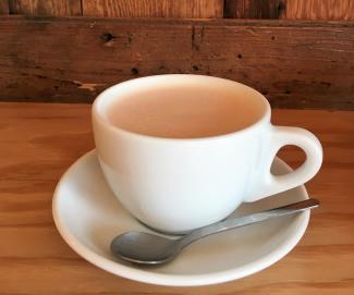 Chai Tea Latte at Albina Press