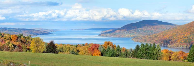 finger-lakes-county-road-12-fall-canandaigua-lake-panoramic