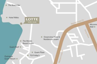 Lotte Hotel Guam MAP