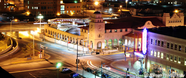 Downtown Albuquerque ©Naman Photography