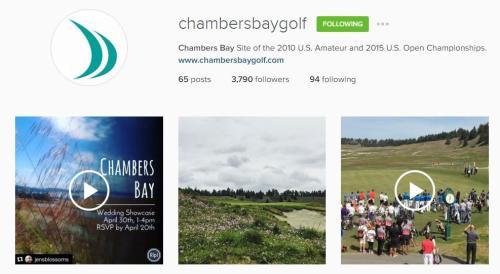 Chambers Bay Instagram