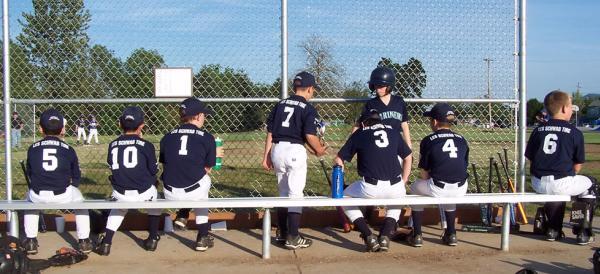 Baseball at Trainsong Park