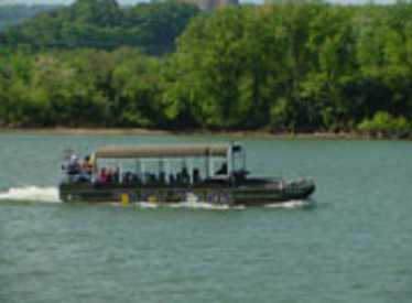 Chattanooga's only amphibious vehicle, the Chattanooga Ducks