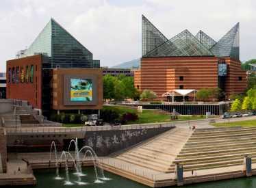 Tennessee Aquarium buildings
