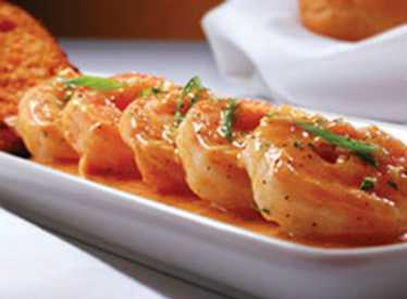 BBQ Shrimp at Ruth Chris Steak House