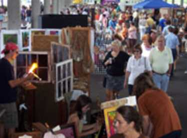 Artists at the Chattanooga Market