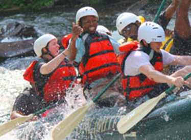 Rafting fun with Adventures Unlimited