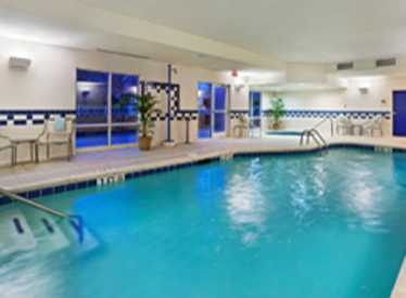 Pool at Fairfield Inn & Suites/East Ridge