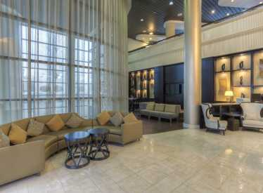 Chattanooga Marriott Hotel Lobby