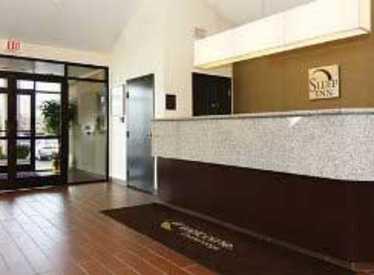 Reception area at Sleep Inn/Hamilton Place