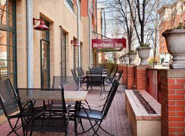 Outdoor area at Residence Inn/Downtown