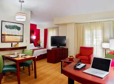 Studio suite at Residence Inn/Downtown