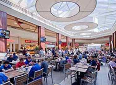 Food court at Hamilton Place