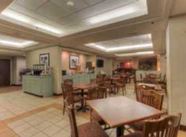 Breakfast area at Clarion Inn/Lookout Mountain