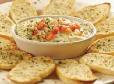 Asiago Cheese Dip at Big River Grille