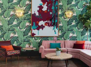 The Dwell Hotel Parlor
