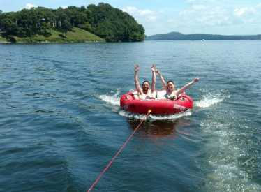 Tubing is so much fun!