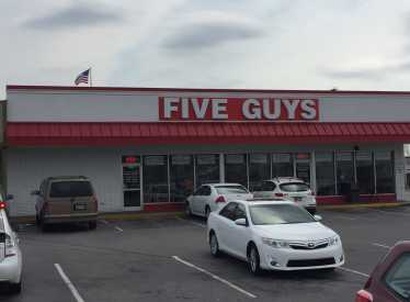 Five Guys Hixson