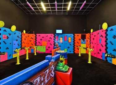 Pinstrikes Game Room 2