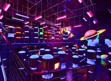 Pinstrikes Game Room