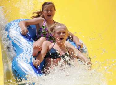 Slide at SoakYa Water Park