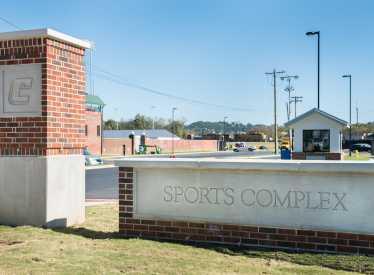 UTC Sports Complex Entrance Sign