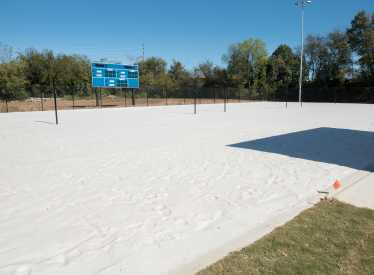 Sports Complex Volleyball Courts 2