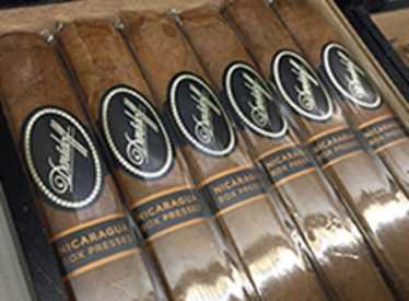 Cigars at Burns Tobaccionist/Hamilton Place