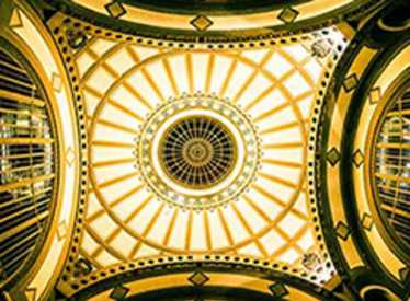 Dome in Choo Choo's Lobby