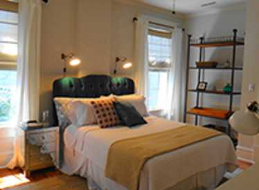 Bedroom at Luxe Living