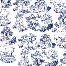 Toile Blue