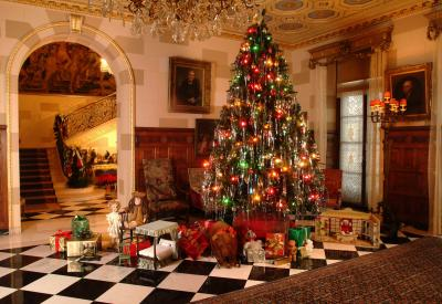 Christmas at Nemours Estate