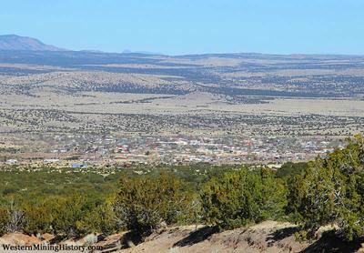 Kelly panorama toward Magdalena