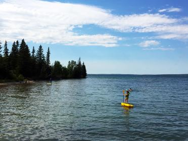 Clear Lake Beach, Riding Mountain National Park