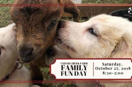 Cedar Creek Farm Fall Family Fun Day