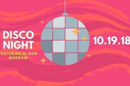 Disco Night featuring DJ Don Morrow