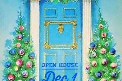 Bleu Christmas Open House