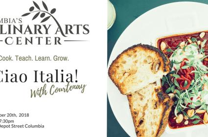 Ciao Italia with Chef Courtenay