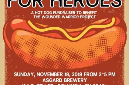Hot Dogs for Heroes - Benefit for the Wounded Warrior Project