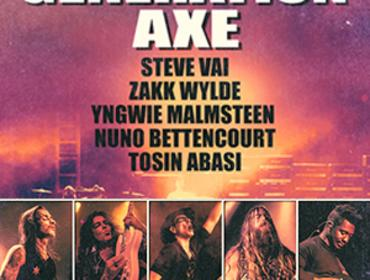 Generation Axe featuring Steve Vai, Zakk Wylde, Yngwie Malmsteen, Nuno Bettencourt and Tosin Abasi