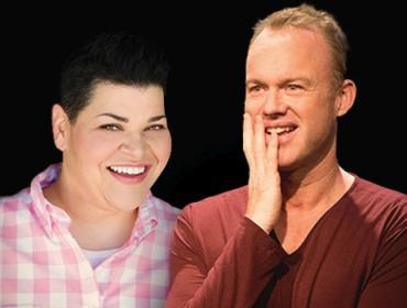 Stand-up Storytellers James Judd & Jen Kober
