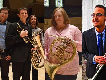 Spotlight on Faculty – Jive for Five: The American Brass Quintet Sound