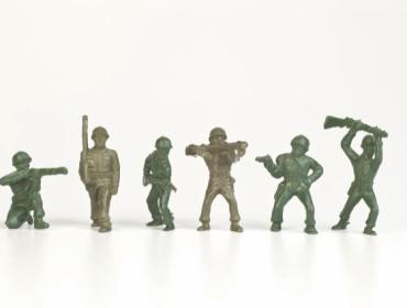 Robert C. Postal Toy Soldier Day