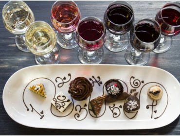Wine and Dessert Pairing Class at Via Girasole Wine Bar